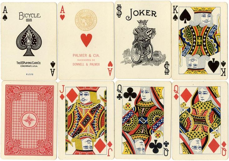 Bicycle no808 page 2 the world of playing cards