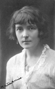 "British Writer Katherine Mansfield. Raoul Duquette, the Narrator in Katherine Mansfield's ""Je Ne Parle Pas Français"""
