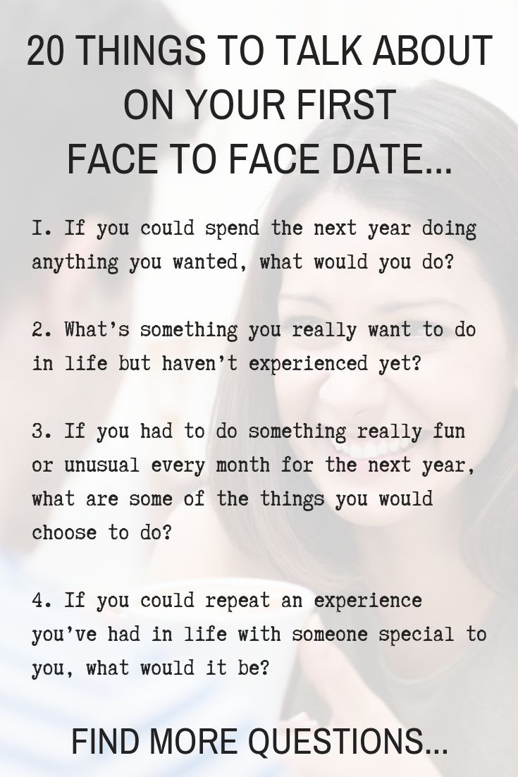 20 Things To Talk About When You Meet For The First Time