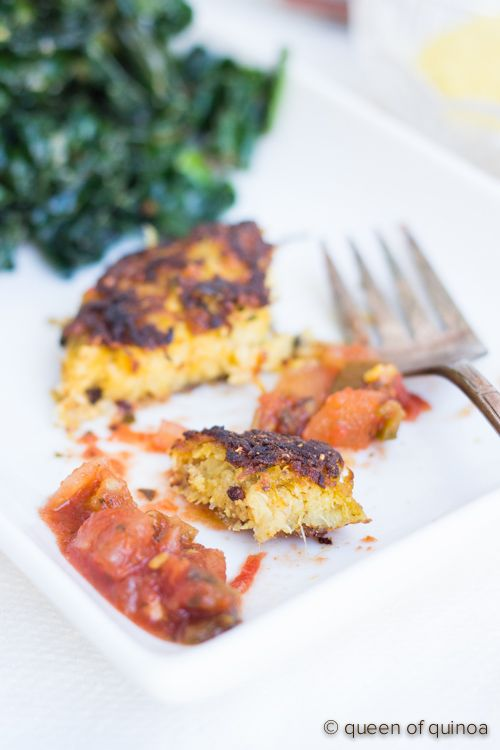 Spaghetti Squash Quinoa Cakes made from powerhouse winter squash and ...