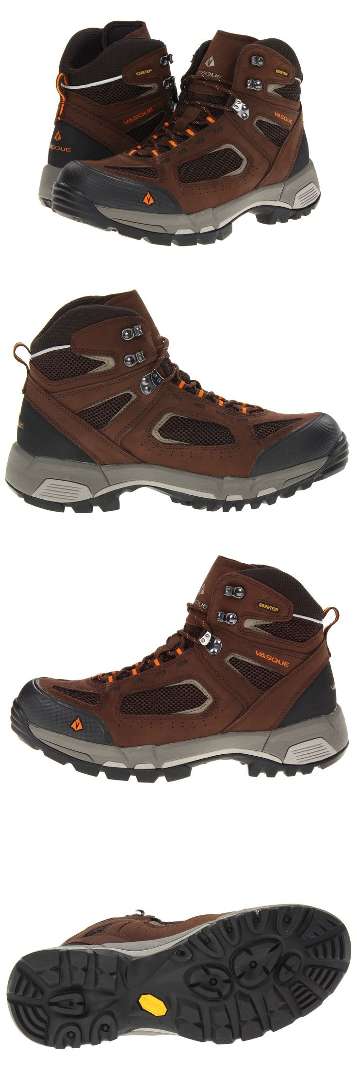 Mens 181392: New Vasque Breeze 2.0 Gtx Wp Hiking Trail Boots Men 9 Slate Brown Russet Orang -> BUY IT NOW ONLY: $89.99 on eBay!