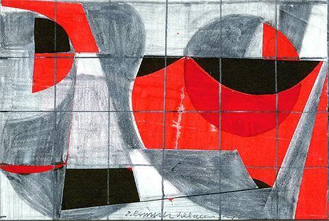 Proyecto para una pintura - Eduardo Ramirez Villamizar
