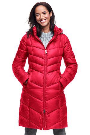Women's Casual Down Long Coat