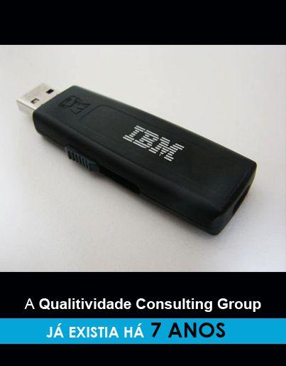 """Qualitividade Consulting Group 20 anos  Ainda se lembra de usar disquetes? Ou já só se lembra das """"pen-drives""""?  A 1ª """"pen drive"""" entrou no mercado, em 2000, nos Estados Unidos."""
