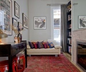 24 best Rooms with Persian Rugs images on Pinterest   Living room ...