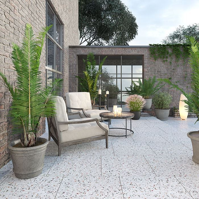 Terrazzo Tiles Ideal For Your Garden And Terraces Outdoor Tiles Terrace Tiles Cement Tiles Outdoor
