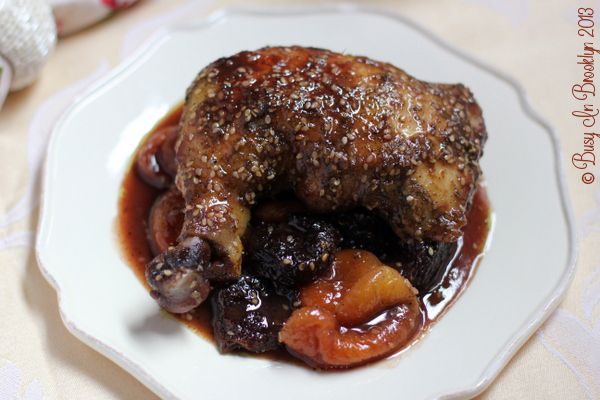 Busy in Brooklyn » Blog Archive » Honey Roasted Za'atar Chicken with Fruit