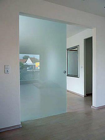 Glas Schiebetüre