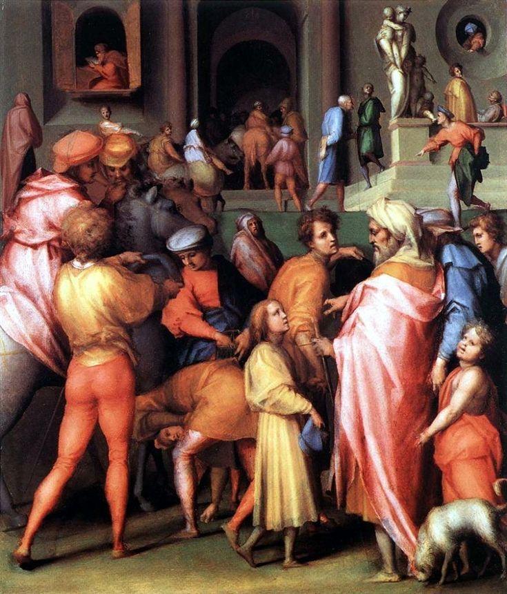Якопо Понтормо. Иосифа продают Потифару. 1515.18 гг.