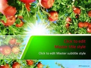 Free Garden PPT Template