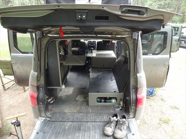 17 Days In My Micro Camper Honda Element Owners Club