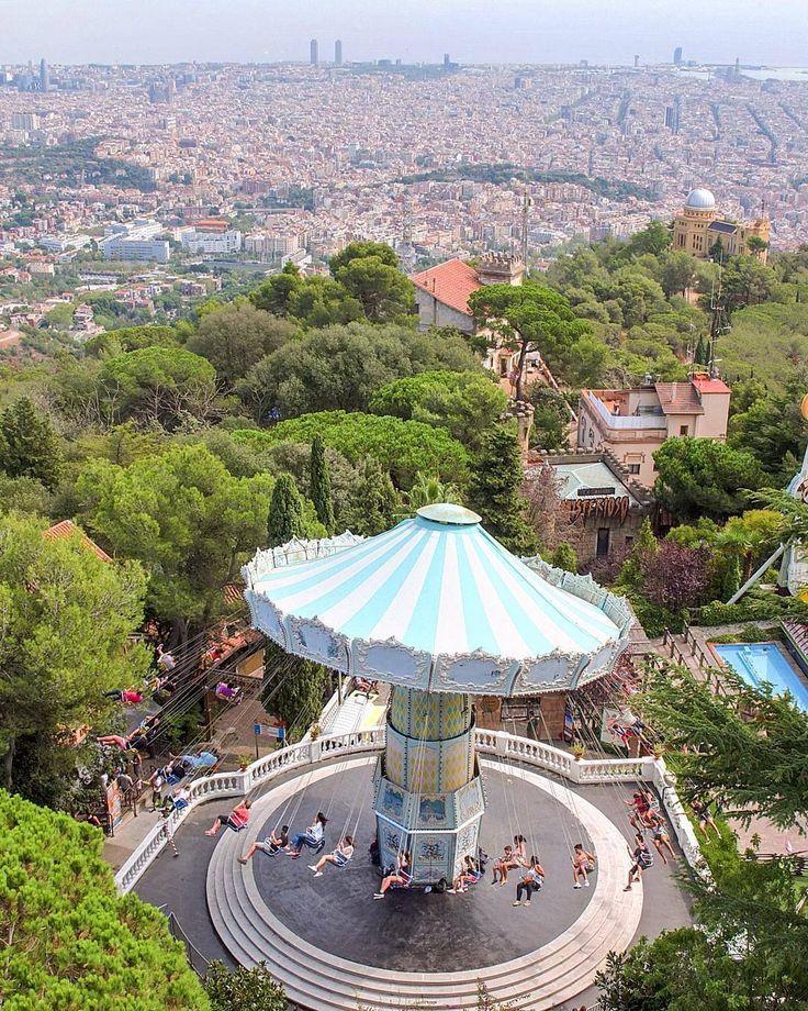 Tibidabo SpainBarcelona 76 best Barcelona with children