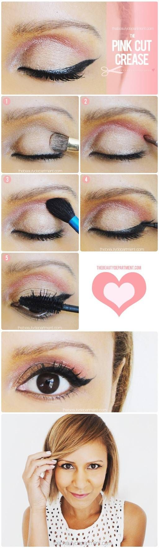 thebeautydepartment.com pink cut crease