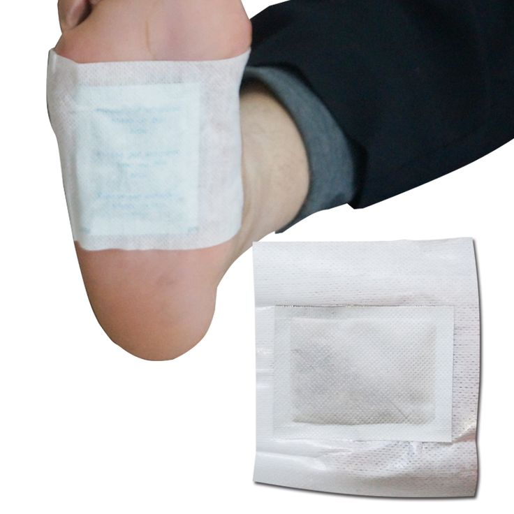 50PCS=25pairs /Pack  Hot Sale Bamboo Vinegar Foot Detox Patches Remove Toxins From your body