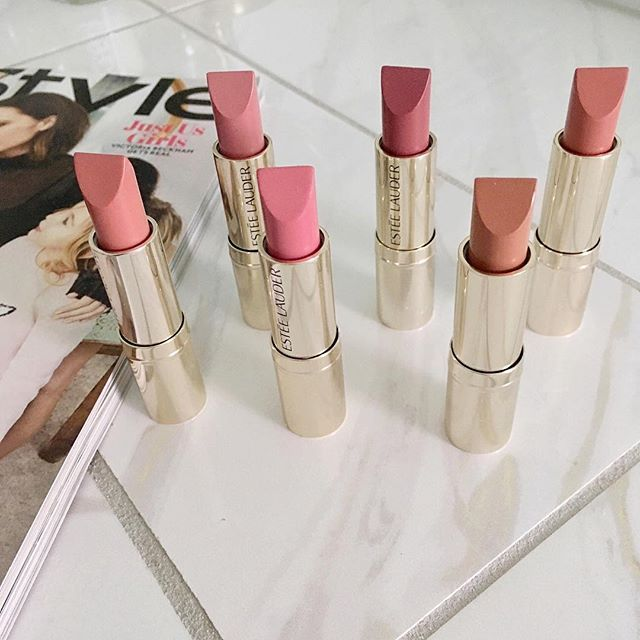 Neutral shades from the new Estee Lauder Pure Color Love Collection!