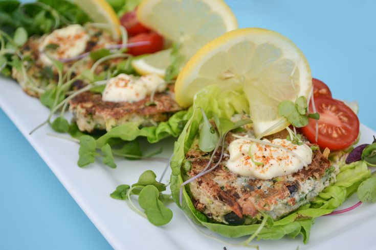 how to make cod fish burgers