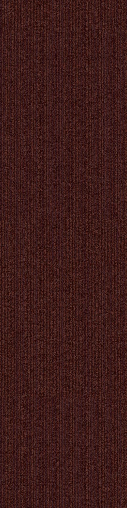 Interface carpet tile: On Line Color name: Rust