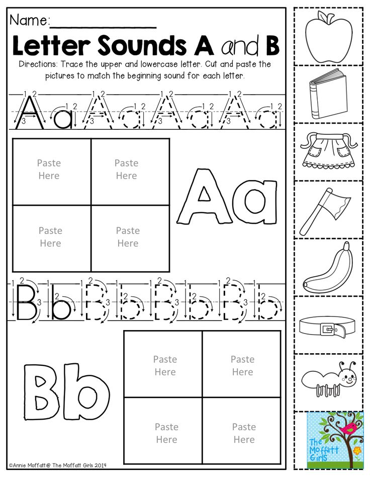 Free Kindergarten Worksheets Printable Packets : Back to school no prep math and literacy packet
