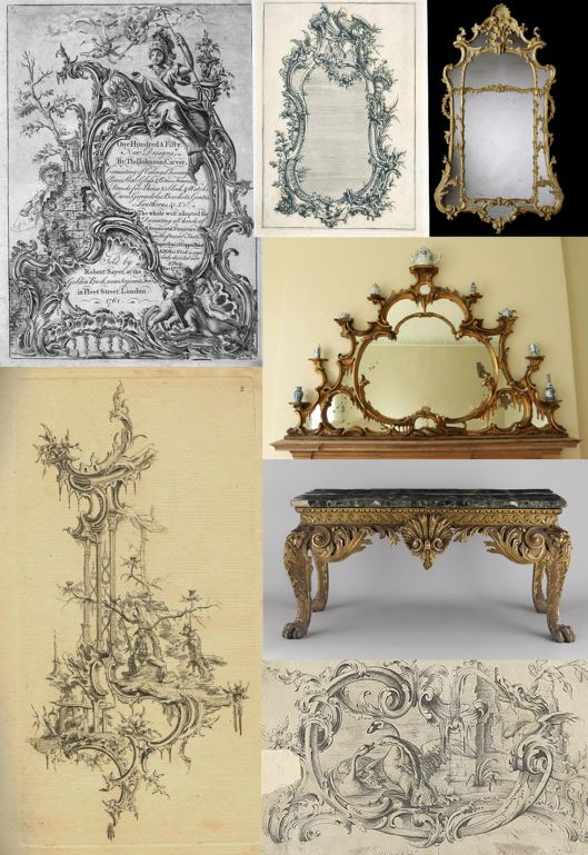 12 best rococo ingles images on pinterest chippendale for Sofas tipo ingles