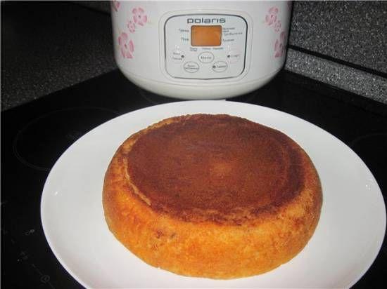 Пирог с консервированной горбушей (Мультиварка Polaris PMC 0508)
