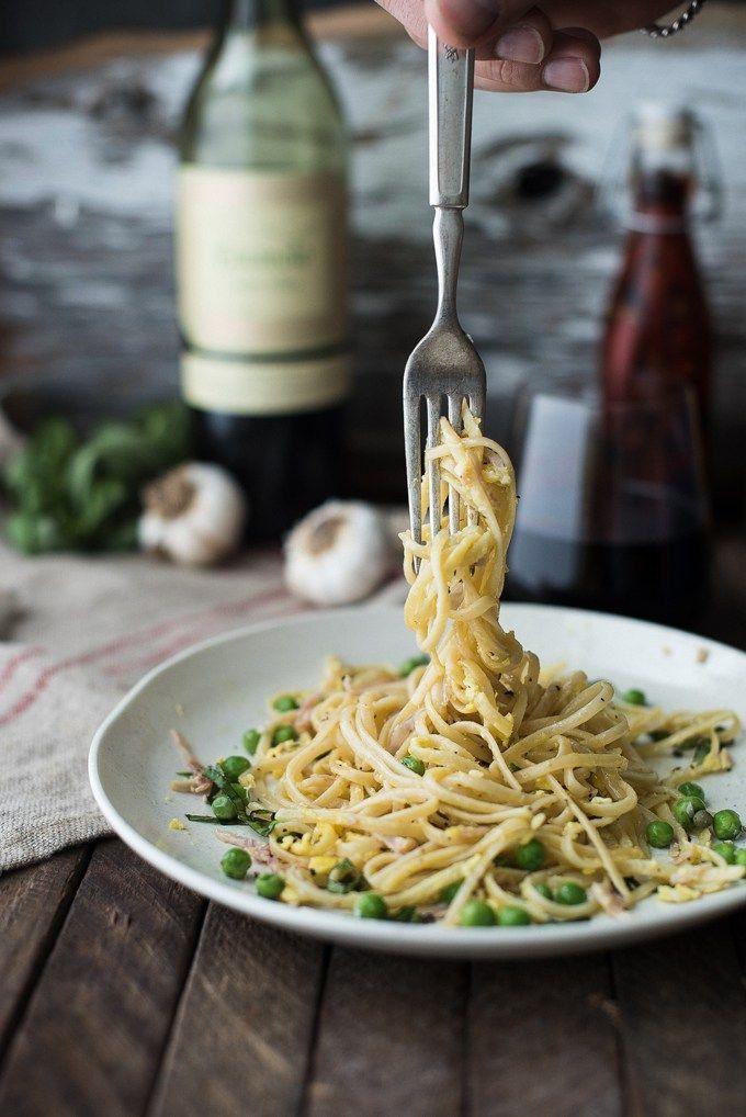 classic pasta carbonara | superman cooks