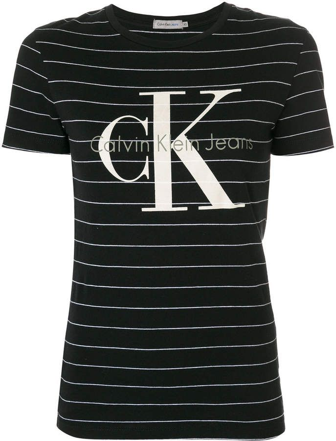 ecf5843ede48 Calvin Klein Jeans striped T-shirt