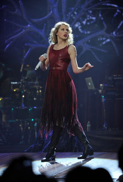 'Haunted' was one of my favorite performances on the SPEAK NOW tour