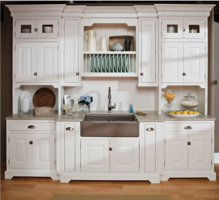 Captivating Beach House Kitchen Featuring Berenson American Classics Collection Pulls  And Berenson Convertible Latches.   Dura