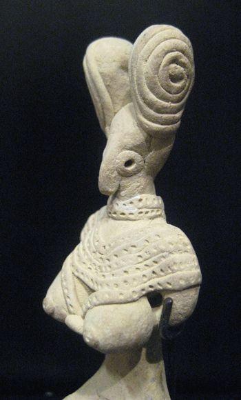 Indus Valley Terracotta Figurine of a Fertility Goddess Origin: Pakistan/Western India Circa: 3000 BC to 2000 BC