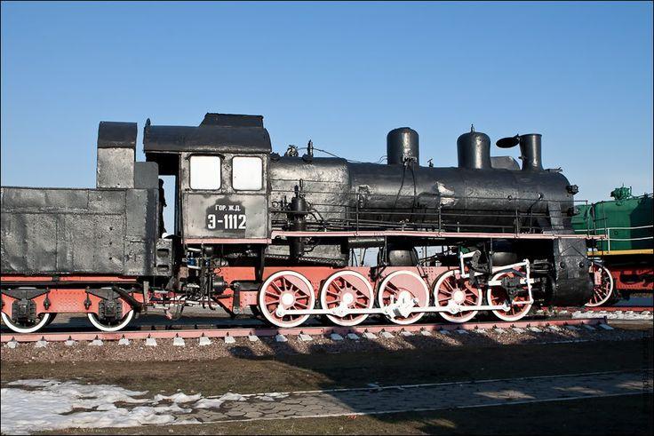 Паровоз Э-1112. Разработан Луганским паровозостроительным заводом в 1910 году