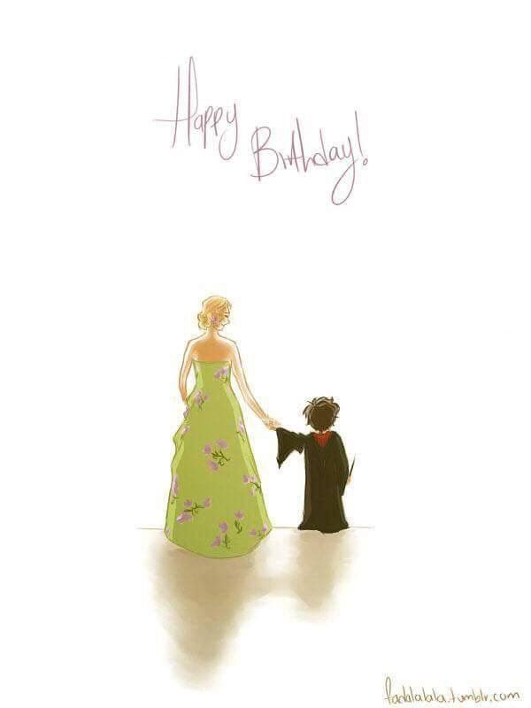 Happy Birthday JK Rowling and Harry Potter!!!