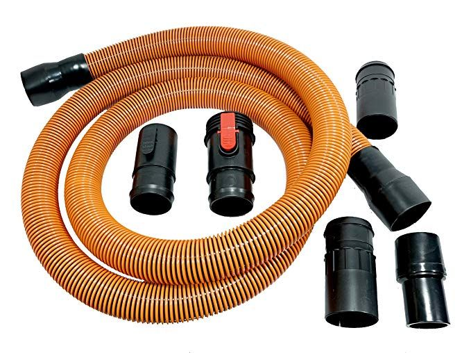 Ridgid Vt2570 Genuine Oem 1 7 8 Inch X 10 Foot Wet Dry Vacuum Hose Extension Replacement Set 6 Pieces 1 X 4x Pro Hose 5 X Co Wet Dry Vacuum 10 Feet Hose