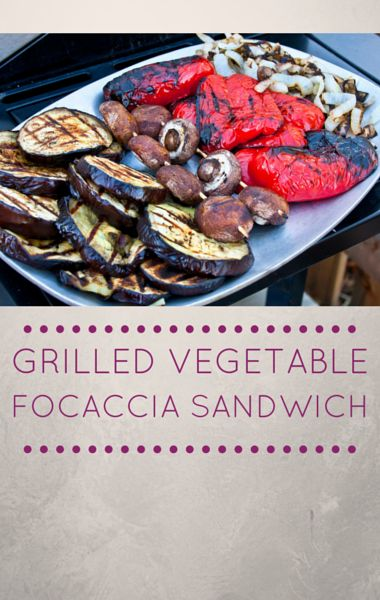Mario Batali whipped up a delicious Grilled Vegetable Foccacia ...