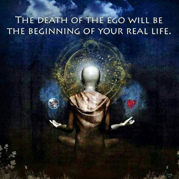 Shedding what needs to be shed of the ego is the path to the wholeness of love
