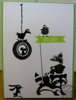 Martina's kaartjes : Cats on appletrees