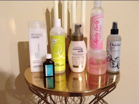 Styling Products For Fine Thin Curly Hair Part One