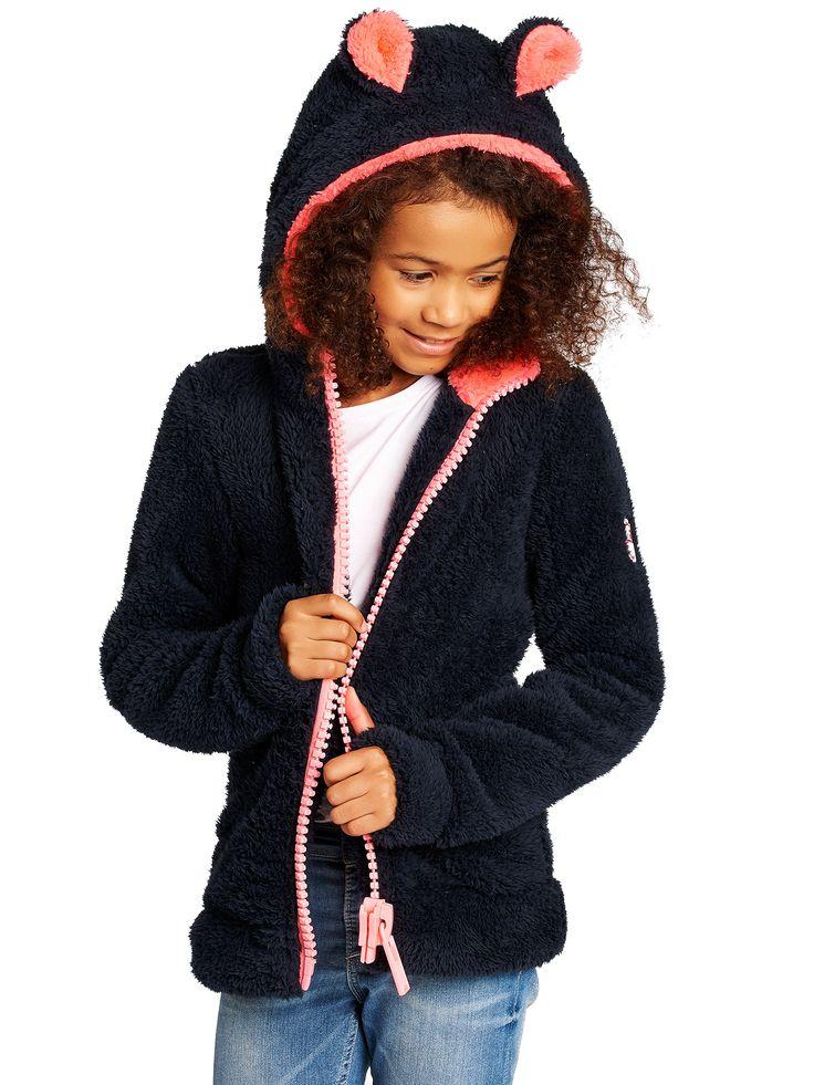 Rocket Blue Pink Contrast Soft Furry Sweater Kido – BeGummy