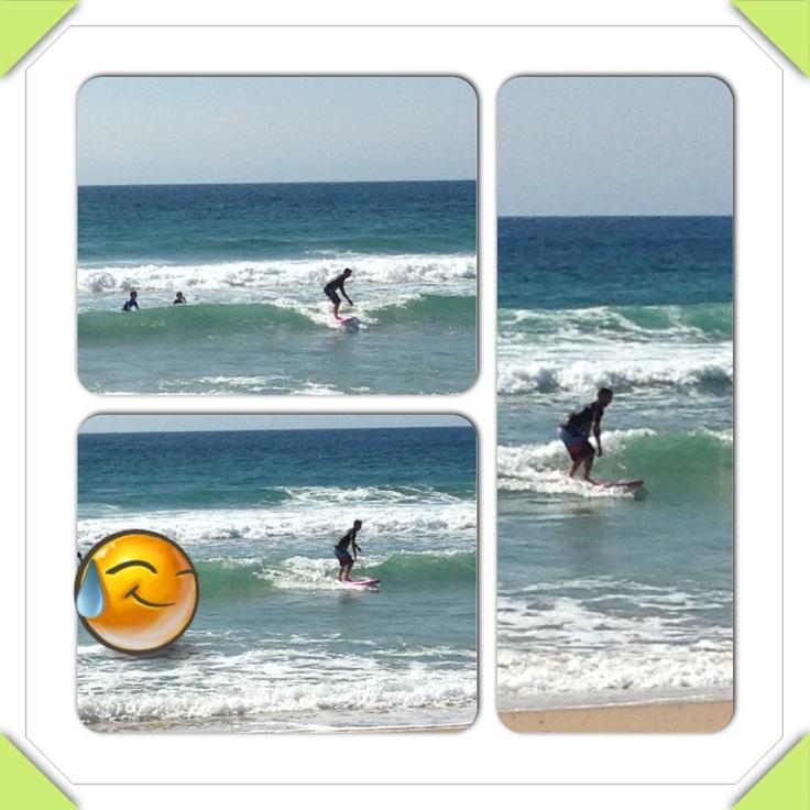 Darren surfing @ MM Beach