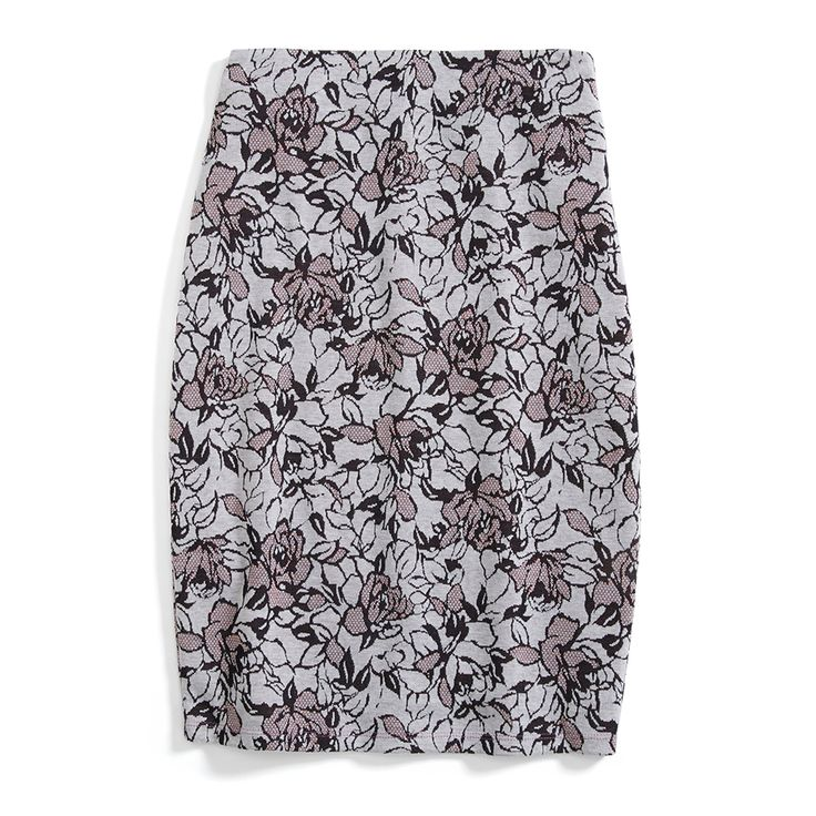 Stitch Fix Monthly Must-Haves: Modern, romantic and sophisticated. Moody florals can be worn to the office with black tights and pointed pumps. To cocktail hour, try it with an embellished sweater and statement earrings.