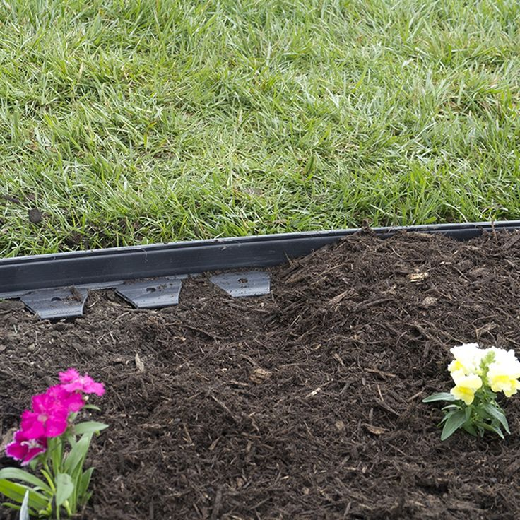 Plastic Garden Edging Ideas how to install recycled plastic lawn edging roll around flower bed enjoy neat border and lawn edge youtube Best 25 Metal Landscape Edging Ideas On Pinterest