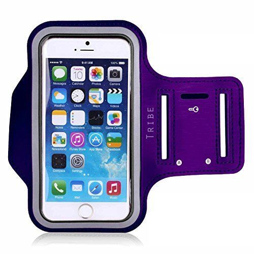 Tribe-AB37-Water-Resistant-Sports-Armband-with-Key-Holder-for-iPhone-6-6S
