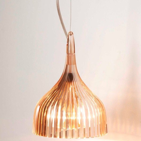 Kartell É Pendant light designed by Ferruccio Laviani #light #design