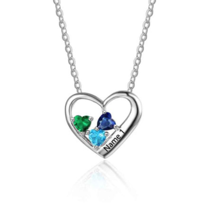 Valentines Love Sale is ON NOW!! Choose from a beautiful range of gifts for your Valentine with standard trackable post included! Save an additional 5% off the already reduced Sale prices for purchases of AU$100 or more - just enter code OZ5 at checkout! https://ozbuddie.com/collections/on-sale #OzBuddieSale #Love #Hearts #Gifts #ValentinesDay #ValentinesDaySale #ValentinesDayGift #BeMyValentine #LoveIsInTheAir #WantIt #NeedIt #GiftIt >>>  Triple Birthstone Heart & Name Necklace - 925…