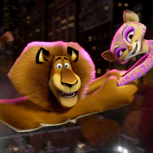 Alex and Gia from Madagascar 3