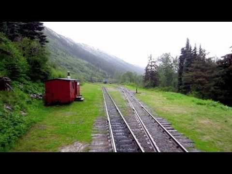 White P Railway In Skagway Alaska You
