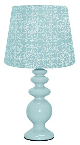 Update your room, dorm or desk with this modern, porcelain table lamp. You can easily coordinate this lighting accessory with current room decor an...