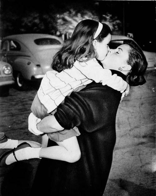 Judy Garland and Liza Minelli.