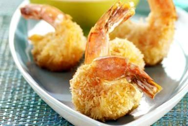 Skip the Grease and Serve Up Baked Coconut Shrimp Instead: Crowd-pleasing Coconut Shrimp - easily baked up in your oven