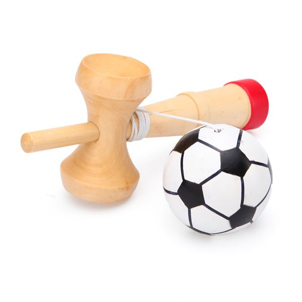 Children Soccer Football Shape Kendama Ball Toy Traditional Game is it worth it