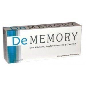 De Memory es un complemento alimenticio con fósforo, fosfatidilserina, taurina y vitaminas que refuerza tu memoria.  Indicado para aquella...